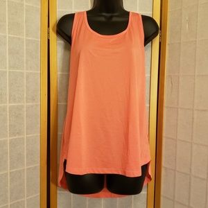 Coral Old Navy Active Jersey Dry Fit Loose Tank